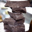 Slab chocolate — Stock Photo #45390201