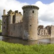Moated Caerlaverock Castle — Stock Photo #45391949
