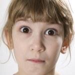 Porttrait of little girl — Stock Photo #45392655