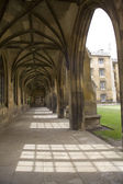 Colonnade in St. John's college — Stok fotoğraf