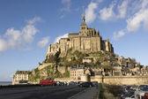 The mount Saint-Michel Abbey — Stock Photo