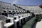 Plastik sandalye — Stok fotoğraf