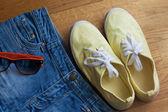Summer clothing — Stock Photo