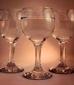 个酒杯 — 图库照片