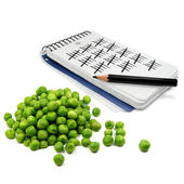 Pea Counter — Stock Photo