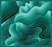 Green background volume — Stock Vector