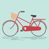 Bicicleta vintage — Vector de stock