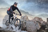Cyclist — Stock Photo