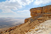 Clouds over Makhtesh Ramon  Crater — Stock Photo