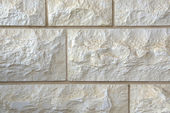 Natural stone brick white gray grey background — Stockfoto