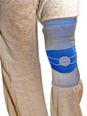 Sports knee brace — Stock Photo