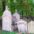 The Old Jewish Cemetery in Prague — Stock Photo