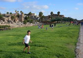 Historic Caesarea Park — Stock Photo