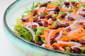 Mixed colorful salad — Stock Photo