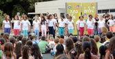 Geri okul performans — Stok fotoğraf