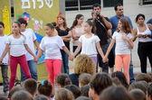 Back to school performance — Stock Photo