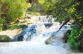 Waterfall on the Jordan River — Stock Photo