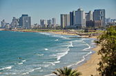 The Tel Aviv sky line — Stock Photo