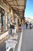Steet in the old city of Jaffa — Stock Photo