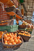 Oranges in the Jaffa Market — Stock fotografie