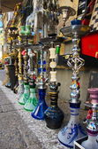 Hookahs at the Jaffa Flea Market — Stock Photo