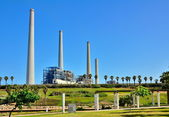 Power Plant Station in Israel — Stock Photo