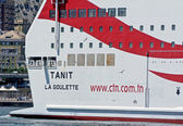 Tunisian ferry — Stock Photo