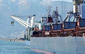 Lastfartyg — Stockfoto