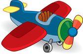 Zabawka samolot — Wektor stockowy
