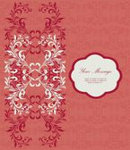 Wedding invitation or announcement — Vector de stock