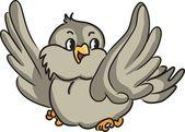 Pássaro de desenhos animados — Vetorial Stock