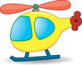 Toy helicopter — Stock Vector