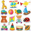 Baby's toys set — Stock Vector #44939419