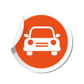 Car icon. — Stock Vector