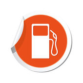 Gas station icon. — Stock Vector