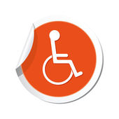 Handicap icon. — Stock Vector