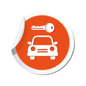 Parking for car icon — Stock Vector