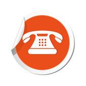 Telephone icon. — Stock Vector