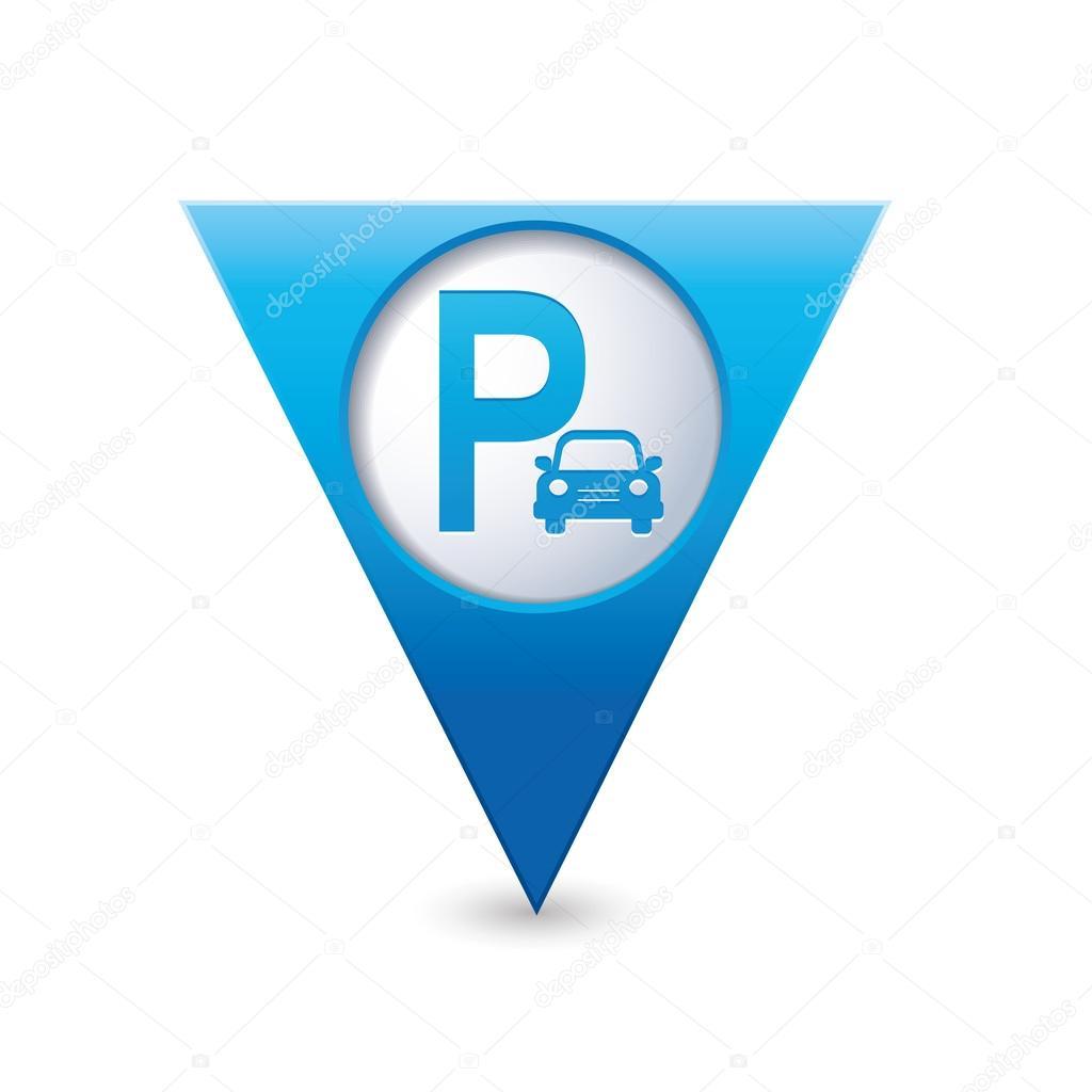 地图指针上停车标志 — 图库矢量图像08 arnica83