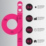 Постер, плакат: Step by Step infographics