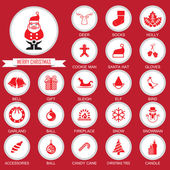 Christmas Icons Collection set — Stock Vector