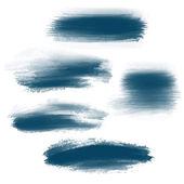 Splash brush strokes background — Stock Vector
