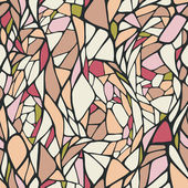 Seamless pattern with abstract ornament — 图库矢量图片