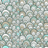 Seamless pattern with scale abstract ornament — 图库矢量图片