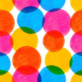 вектор бесшовные модели с яркой красочной акварелью нарисовал — Cтоковый вектор