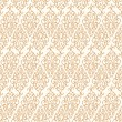 Seamless pattern with abstract damask doodle ornament — Stock vektor #51622295