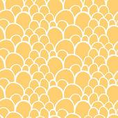 Patrones sin fisuras con mano estilizada abstracta dibujada escala textura — Vector de stock
