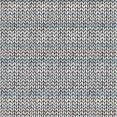 Seamless pattern with hand drawn knitted stripes — Stock vektor