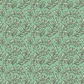 Seamless pattern decorative branches — Vector de stock