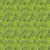 Seamless pattern decorative branches — Stockvector